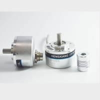 Buy cheap 190 Grams 8mm Solid Shaft Encoder 1440ppr D Type Incremental Encoder CE Certified from Wholesalers