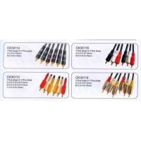 China Cable with RCA plugs  DL41-001 on sale
