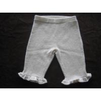 Buy cheap Flowered Trim Cashmere Pants from wholesalers