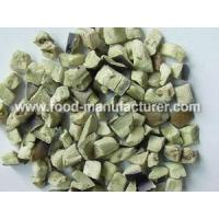 Quality Freeze Dried Vegetables Freeze Dried Aubergine Diced wholesale