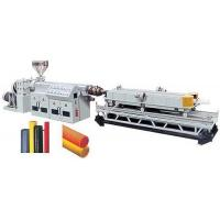 China PVC/PE Single/Double Wall Corrugated Pipe Production Line factory