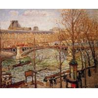 Buy cheap Impressionist(3830) The_Pont_du_Carrousel,_Afternoon from Wholesalers