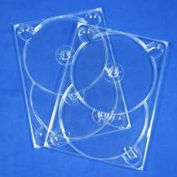 China 2-Disc Clear DVD Tray on sale