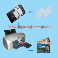 Buy cheap CBB65 blank white pvc card from Wholesalers