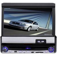 China Portable DVD Player Name:7-inch Motorized Car DVD Player with touch screen, TV, AM, FM Radio, Bluetooth, RDS, USB, SD, GPS Connector on sale