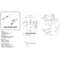 Buy cheap Card Series CARD SOCKET-10P-01 from Wholesalers