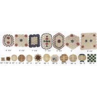 Buy cheap Bamboo&Wooden BeadsCurtain Wooden&Bamboo Cup Mat from Wholesalers