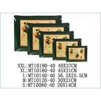 Buy cheap ELAMINE SQUARE TRAY Item No:MT10190set5-40 from Wholesalers