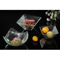 Buy cheap Hotel rectangle transparent acrylic fruit tray from Wholesalers