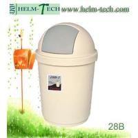 Quality plastic recycle round dustbin-L-28B-1 wholesale