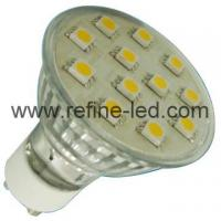 Buy cheap 5050 SMD LED GU10 Halogen Bulb of aluminum body from Wholesalers