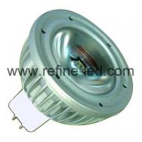Buy cheap 1W High Power LED MR16 Light Bulb of Aluminium Body from wholesalers