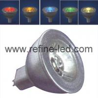 Buy cheap 1W High Power LED MR16 Light Bulb of Multi Color from wholesalers