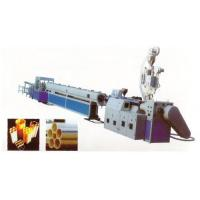 Buy cheap PVC、PE Quincunx Multi-Hole Casing Pipe Production Line from Wholesalers