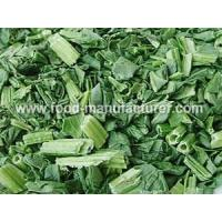 Quality Freeze Dried Vegetables Freeze Dried Spinach Dices wholesale