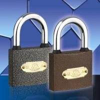 Buy cheap Spray Paint Padlock Plastic Paint (With Rubber) Padlock from Wholesalers