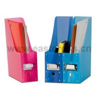 Buy cheap PP Folding Magazine Holder Set of 3 from Wholesalers