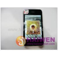China iPhone 3GS Compass 3.5inch Quad band style WIFI JAVA Dual SIM Mobile Phone on sale