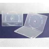 China 14mm single transparent dvd case on sale