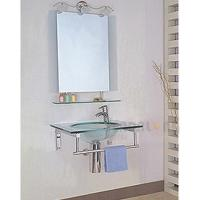 Glass bathroom cabinet Model:GA-04