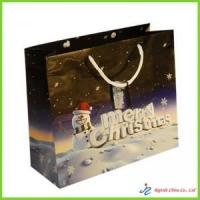Buy cheap paper christmas bag from Wholesalers