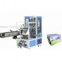 Buy cheap Full Automatic Facial Tissue Carton Box Sealing Machine( WD-FT-CBSM1) from Wholesalers