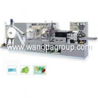 Buy cheap Wet Tissue Machine with Full Automatic 1-2 Pieces Per Package (WD-WT-1-2P) from Wholesalers