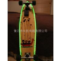 Buy cheap apply skateboard decoration EL wire from Wholesalers