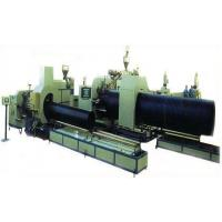 Buy cheap Double wall HDPE corrugated pipe extrusion line from Wholesalers