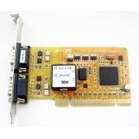 China Multiport Serial Car 2 RS485/422 serial port expansion card (optical isolated) on sale