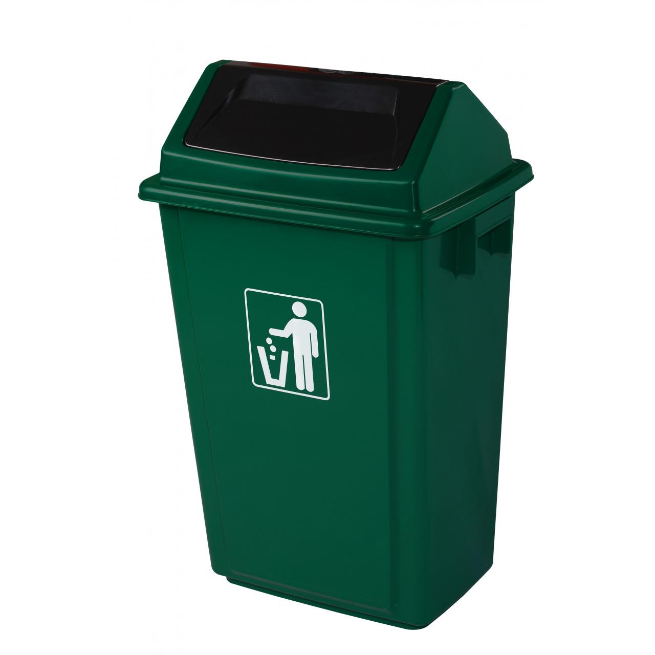 Quality 3#Turning cover garbage bin wholesale