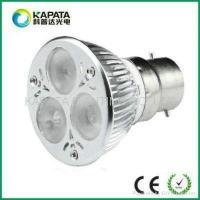 Buy cheap 3*3W B22 dimmable high power led spotlights KPT-LS3*3B22A from Wholesalers