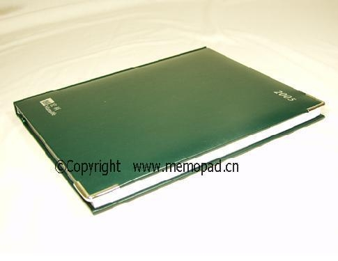 China Senior leather notebooks factory
