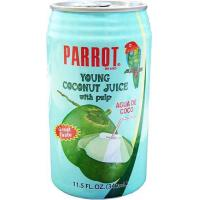 Parrot Brand Young Coconut Juice with Pulp 11.5fl.oz.