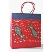 Buy cheap Fish Pattern Paper Bag from Wholesalers