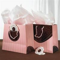 Buy cheap Chocolate Pink Paper Bag from Wholesalers
