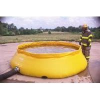 Buy cheap Self-Supporting Frameless Portable Water Tank Fire Department Model (Low Side) from Wholesalers