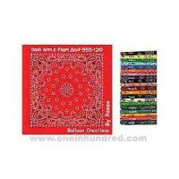 Buy cheap Paisley II Collection - Light Blue - Imported paisley design bandanna made of 100% cotton. from Wholesalers