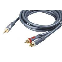 China Middle Grade AV Cable High End Audio Video Cable 2RCA Plug on sale