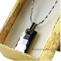 Quality Mens Faceted Tungsten Pendants FA-T4695 wholesale