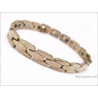 Durable Tungsten Health Bracelets FA-T9414