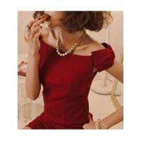 China European Fashion Style Sleeveless Off the Shoulder Boat Neck Bowtie Lady Night Out Dress factory