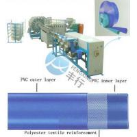 Buy cheap PVC layflat hose extruder from Wholesalers