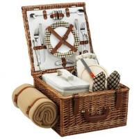 China Picnic at Ascot - London Cheshire Basket for Two w BlanketItem #: 344503 factory