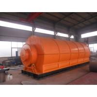 10 tons waste tire pyrolysis plant