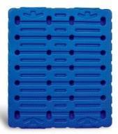 1、High Strength Hollow Blow-molding Plastic Pallet P14121