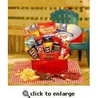 College Care Package | Homesick College Student Gifts | Gift basket for Final Exams
