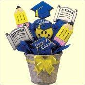 Buy cheap Graduation Congratulations Gifts Graduation Cookie Bouquet from Wholesalers