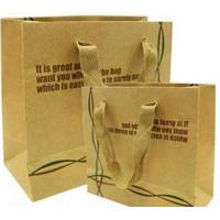 Buy cheap Shopping Bags Made With Kraft Paper (380) from Wholesalers