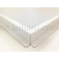Buy cheap 595*595mm Perforated Aluminum Ceiling Tile from Wholesalers